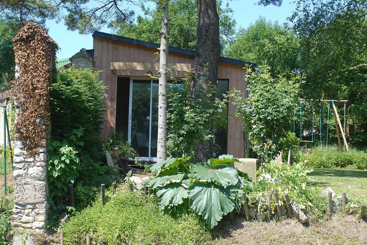 cabane de jardin sur mesure et autres constructions