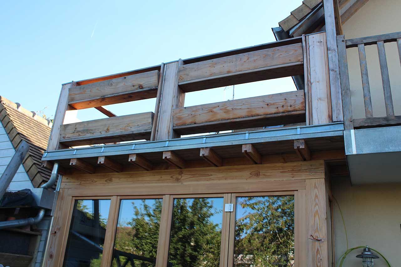Populaire Agrandissement maison avec extension bois - Cabanologue AF97