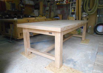 table artisanale de campagne - 5