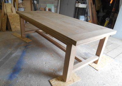 table artisanale de campagne - 7