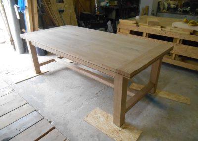 table artisanale de campagne - 8