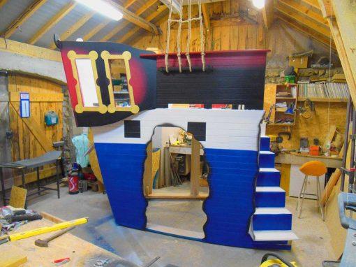 Lit Bateau Pirate – grand modèle