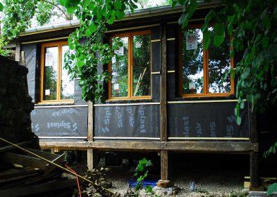 isolation extérieure cabane