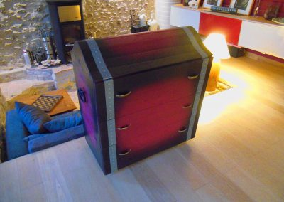 Commode pirate enfant