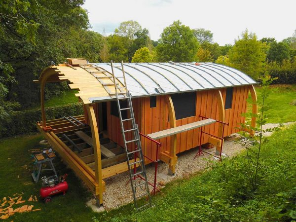Cabane A Construire législation des cabanes : déclaration de travaux ou permis de
